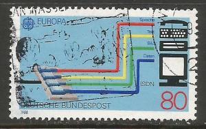 GERMANY 1553 VFU EUROPA T372-4