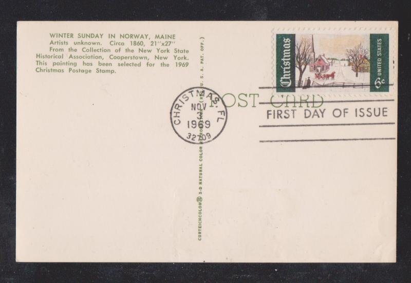 1969 Picture Postal Card FDC