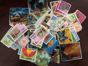 BHUTAN - Lot of Mint Stamps - Includes some 3D Stamps