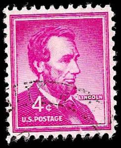 # 1036a USED DRY PRINT ABRAHAM LINCOLN