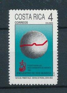 [104404] Costa Rica 1991 Discovery of America  MNH