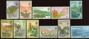 Tristan da Cunha Sc #162 - 169, 171 - 173, MNH.  2017 SCV $23.40