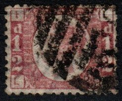 Great Britain #58 F-VF Used CV $22.00 (X7900)
