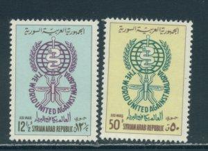 Syria C267-8  MNH cgs