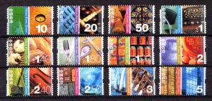Hong Kong Sc #998 to #1009 Eastern & Western Cultures - Syncopated - REDUCED