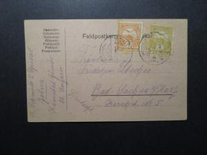 Hungary 1915 Feldpost Card / Left Side Tear - Z12257