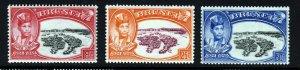 BRUNEI 1949 Sultan's Silver Jubilee Set SG 93 to SG 95 MINT