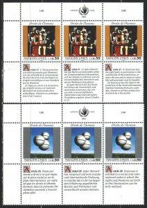 UN Geneva. 1993. 233-34. Human rights, art. MNH.