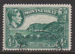 Montserrat Sc#92 Used
