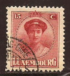 Luxembourg  #  125  used
