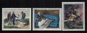 France 1049 - 1051 MNH cat $ 9.00
