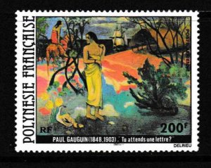 French Polynesia 1979 Scott Airmail C169 ART Paul Gauguin  Waiting for a Letter