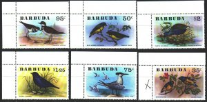 Antigua and Barbuda. 1976. 261-66. Birds, fauna. MNH.