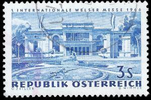 Austria 1966 Sc 770 uvf Int'l Industrial Fair, Weis