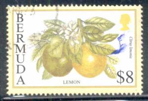Bermuda ~ #684 ~ $8 Lemon ~ Used