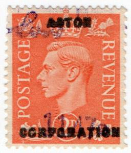 (I.B) George VI Commercial Overprint : Acton Corporation