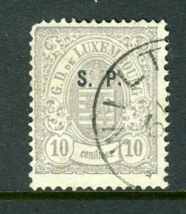 Luxemburg #O17 Fantastic and clean -nice (USED)  cv$160.00
