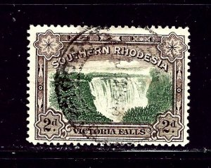 Southern Rhodesia 31 Used 1932 Victoria Falls   #2