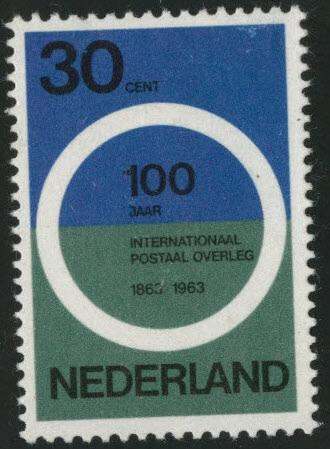 Netherlands Scott 415 MNH** 1963 Postal Congress stamp