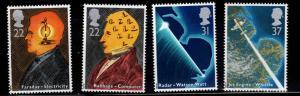 Great Britain Scott 1360-1363 Babbage MNH** 1991 set