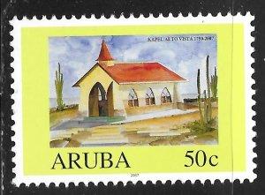 Aruba #311D 50c Alto Vista Church ~ MNH