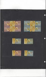 Haiti 380-1, C73-4 IMP, C73-4 Tete Beche Block of 4 MNH ITU Centenary