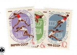 Russia Soviet Union #3088-3090 MNH - Stamp - CAT VALUE $3.00