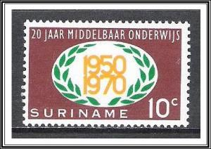 Suriname #369 Secondary Education MNH