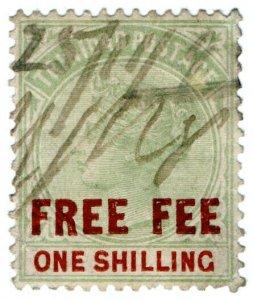 (I.B) Trinidad & Tobago Revenue : Free Fee 1/-