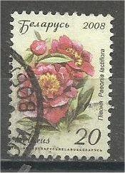 BELARUS, 2008, used 20r, Flowers Scott