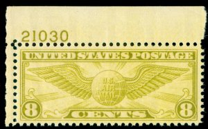 MOMEN: US STAMPS #C17 MINT OG NH PSE GRADED CERT XF-SUP 95
