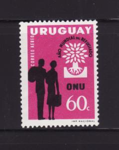 Uruguay C207 Set MNH World Refugee Year (B)