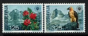 Yugoslavia SC# 1042 and 1043, Mint Never Hinged - Lot 061117