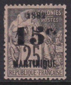 Martinique 1892 SC 32a Mint 1882