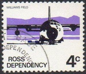 Ross Dependency 1972 4c Hercules Transport at Williams Field used