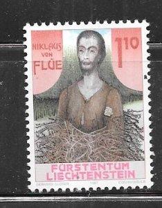 Liechtenstein #863 1.10fr  (MNH)  CV $1.40