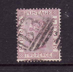 Sierra Leone-Sc#14-used 2p magenta-QV-1876-96-
