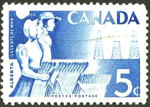 CANADA #355 USED