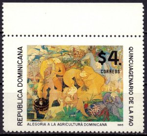 Dominican Republic. 1995. 1735. Food program. MNH.