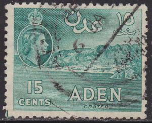Aden 50 Crater 1953