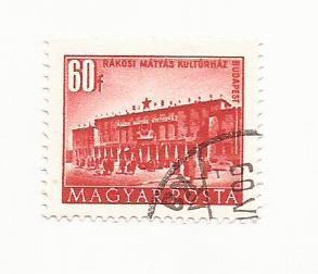 1951 Rakosi House of Culture #965