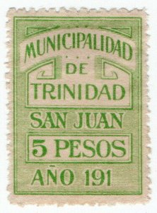 (I.B) Paraguay Revenue : Local Tax 5P (Municipalidad de Trinidad)