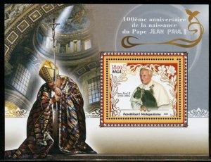 MADAGASCAR 100th BIRTH OF POPE JOHN PAUL II