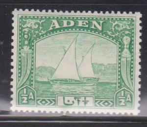 ADEN Scott # 1 MH - Dhow Under Sail
