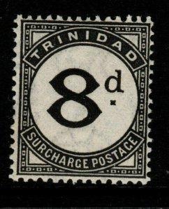 TRINIDAD SGD24 1945 8d BLACK POSTAGE DUE MNH