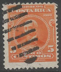 COSTA RICA 72 VFU X906-6