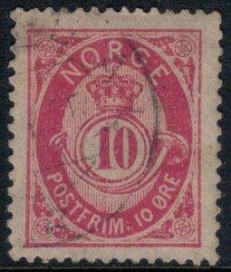 Norway #40  CV $2.00