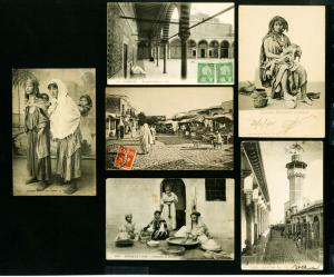 Tunisia Post Cards 9x Rare Selection of various scenes VF