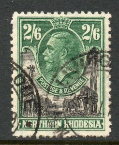 Northern Rhodesia 1925 KGV 2/6d SG 12 used
