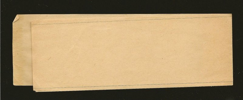 Monaco Prince Charles III 1880's Newspaper Wrapper Unused